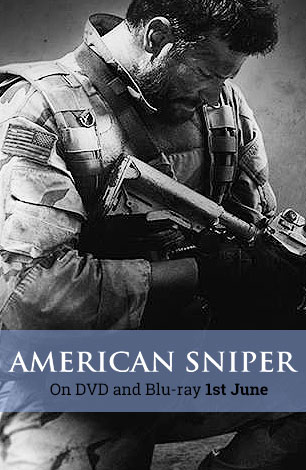 American Sniper on DVD & Blu-ray