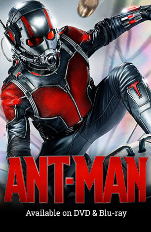 Ant Man on DVD &amp: Blu-ray