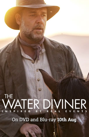 The Water Diviner on DVD & Blu-ray