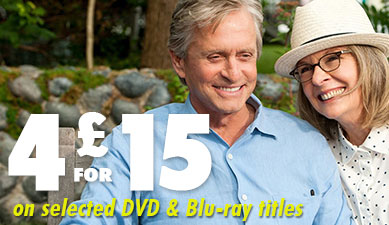 For for £15 on selected DVD & Blu-rays