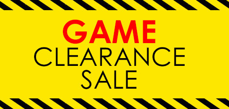Games Clearance Sale