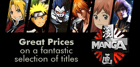 Great Prices on selected Manga Titles