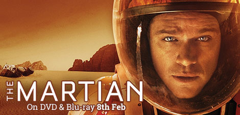 The Martian on DVD & Blu-ray