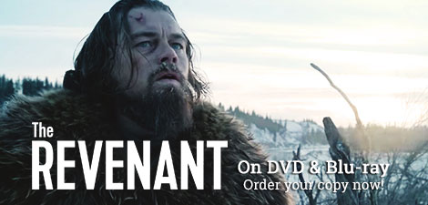 The Revenant on DVD & Blu-ray