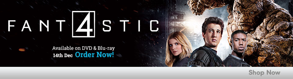 Fantastic Four on DVD & Blu-ray